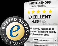 Mehr Informationen zur Trusted Shops Zertifizierung finden Sie hier.