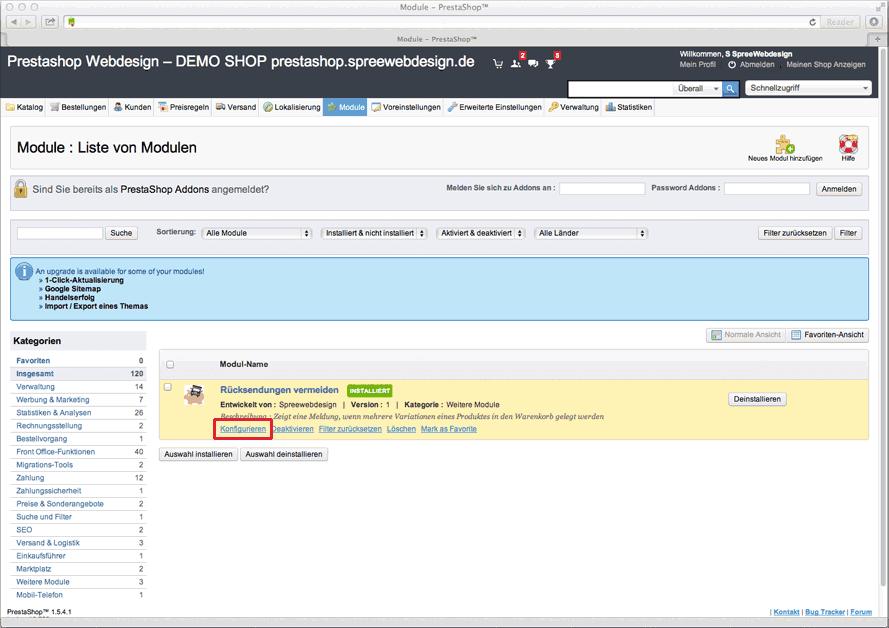 onlineshop_konfigurieren