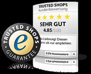 Informationen zum Trusted Shops Gutschein finden Sie hier.
