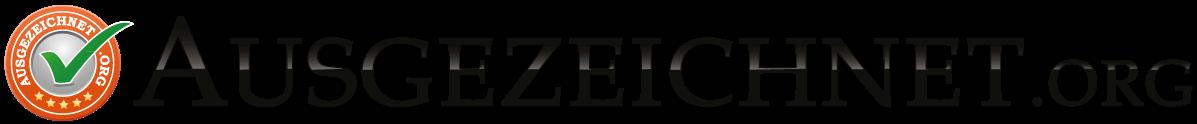 Offizielle Logo Ausgezeichnet.org