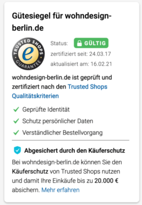 Bewertungen OnlineShop Trusted Shops Gutschein