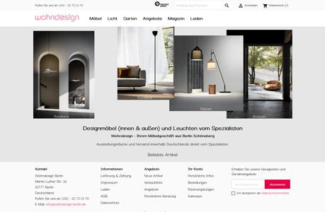 wohndesign-berlin.de - Webdesign Berlin